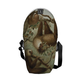 Sloths In Trees Commuter Bag