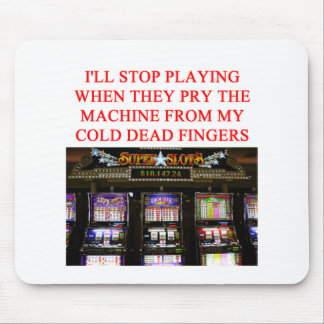 SLOTS slot machine Mouse Pad