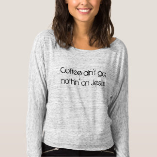 slouchy long sleeve t-shirt