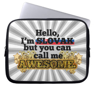 Slovak, but call me Awesome Laptop Sleeve