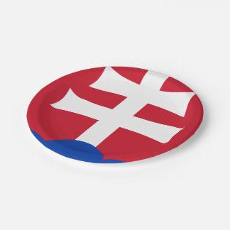 Slovak Coat arms Paper Plate