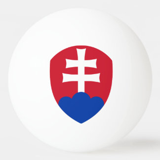 Slovak Coat arms Ping Pong Ball