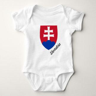 Slovak Coat of arms Baby Bodysuit