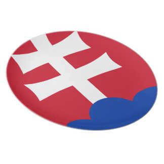 Slovak Coat of arms Plate