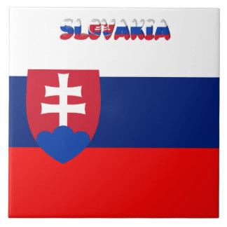 Slovak flag tile