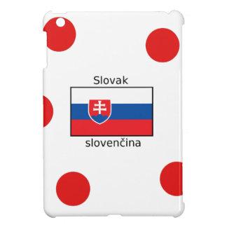 Slovak Language And Slovakia Flag Design iPad Mini Covers