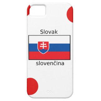 Slovak Language And Slovakia Flag Design iPhone 5 Covers