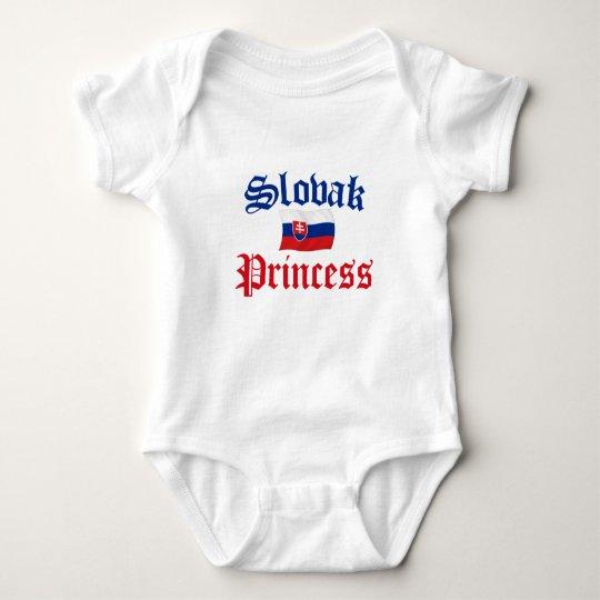 Slovak Princess Baby Bodysuit