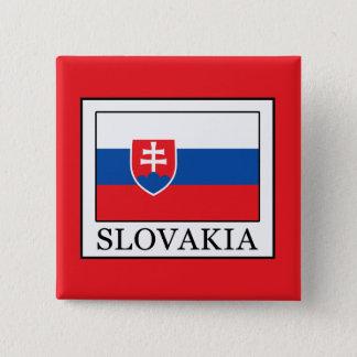 Slovakia 2 Inch Square Button