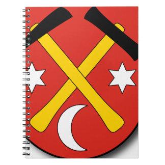 Slovakia #2 spiral notebook