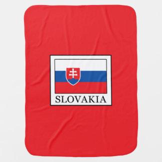 Slovakia Baby Blanket