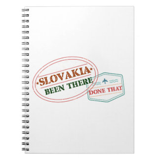 Slovakia Been There Done That Notebook