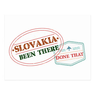 Slovakia Been There Done That Postcard