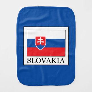 Slovakia Burp Cloth