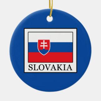 Slovakia Ceramic Ornament