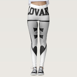 Slovakia Coat of Arms Leggings