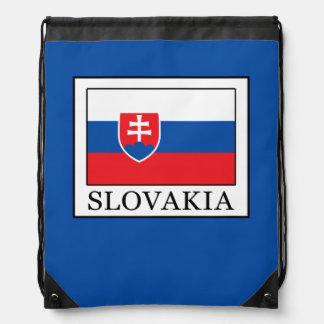 Slovakia Drawstring Bag