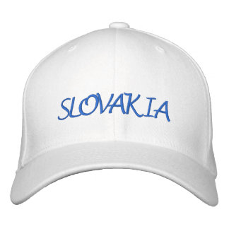 Slovakia Embroidered Hat