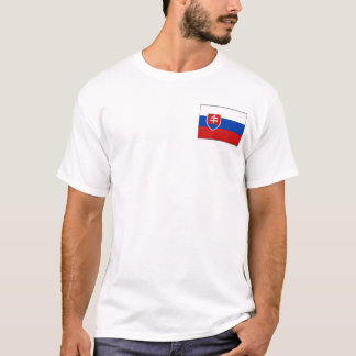 Slovakia Flag and Map T-Shirt