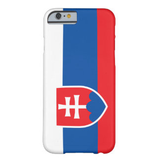 Slovakia Flag Barely There iPhone 6 Case