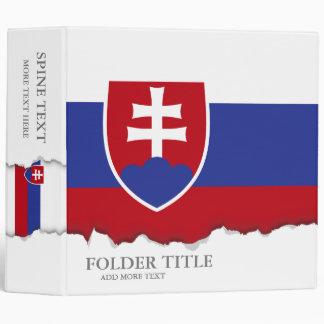 Slovakia Flag Binder