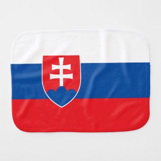 Slovakia Flag Burp Cloth