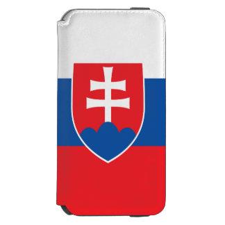 Slovakia Flag Incipio Watson™ iPhone 6 Wallet Case