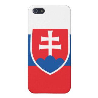 Slovakia Flag iPhone iPhone 5/5S Cover