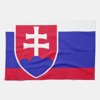 Slovakia Flag Kitchen Towel