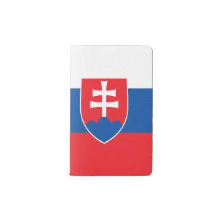 Slovakia Flag Pocket Moleskine Notebook