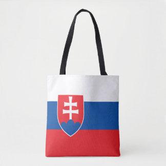 Slovakia Flag Tote Bag