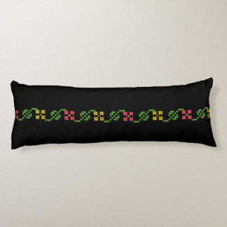 slovakia folk pattern motif traditional ethnic sym body pillow