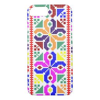 slovakia folk pattern motif traditional ethnic sym Case-Mate iPhone case
