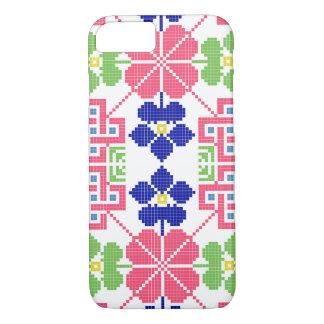 slovakia folk pattern motif traditional ethnic sym iPhone 8/7 case