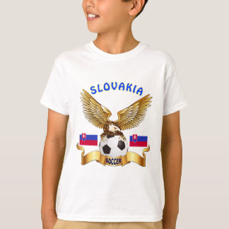 Slovakia Football Designs T-Shirt