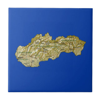 Slovakia Map Tile