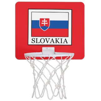 Slovakia Mini Basketball Hoop