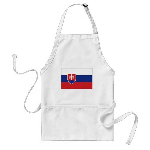 Slovakia National Flag Apron