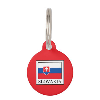 Slovakia Pet Name Tag