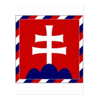 Slovakia President Flag Postcard
