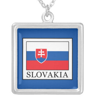 Slovakia Silver Plated Necklace