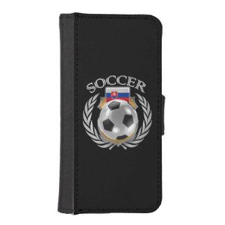 Slovakia Soccer 2016 Fan Gear Phone Wallet Case