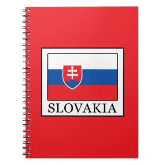 Slovakia Spiral Notebook