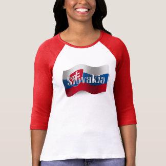 Slovakia Waving Flag Shirt