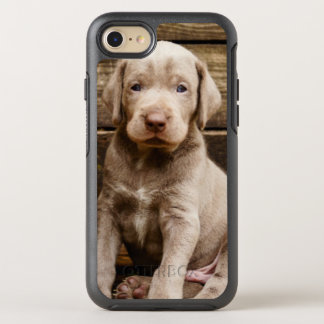 Slovakian Rough Haired Pointer Puppies OtterBox Symmetry iPhone 8/7 Case