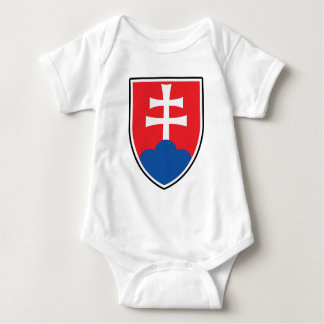 Slovakian Shield Baby Bodysuit