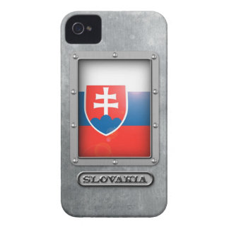 Slovakian Steel Case-Mate iPhone 4 Cases