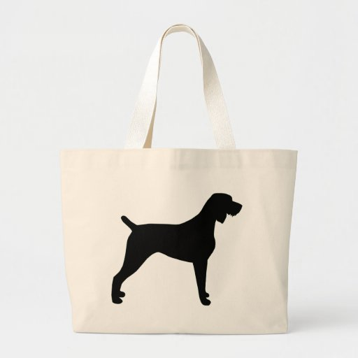 Slovakian Wire-Haired Pointing Dog Tote Bags