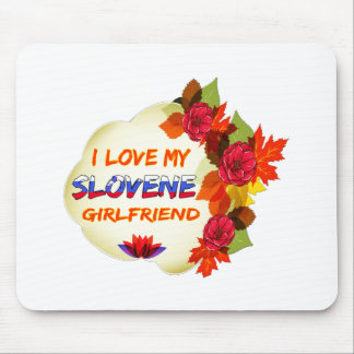 Slovene Girlfriend designs Mouse Pad