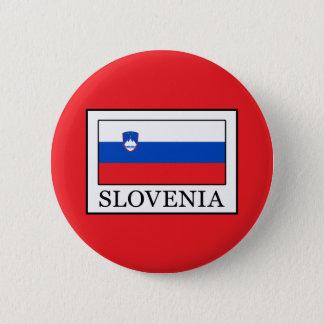 Slovenia 2 Inch Round Button